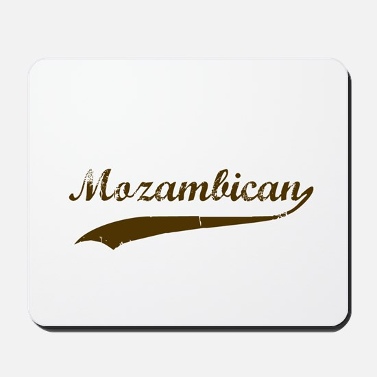 Vintage Mozambique Retro Mousepad