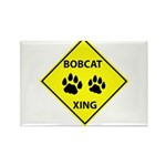 Bobcat Crossing Rectangle Magnet (10 pack)