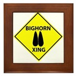 Bighorn Crossing Framed Tile
