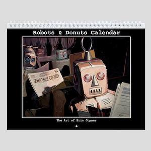 Robots & donuts Calendar
