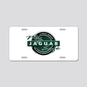 My Jaguar Life New Aluminum License Plate