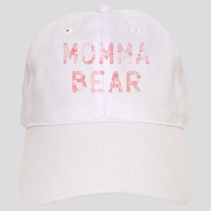 Momma Bear Pink Cap