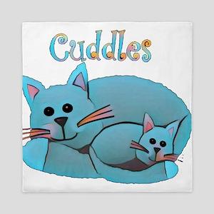 Cat Cuddles Queen Duvet