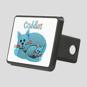 Cat Cuddles Rectangular Hitch Cover