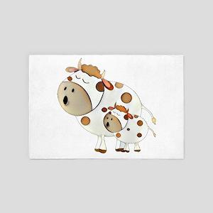 Moo Cows 4' x 6' Rug
