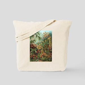 Vintage Plants Decorative Nature Tote Bag