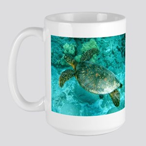 Sea Turtle Large Mug