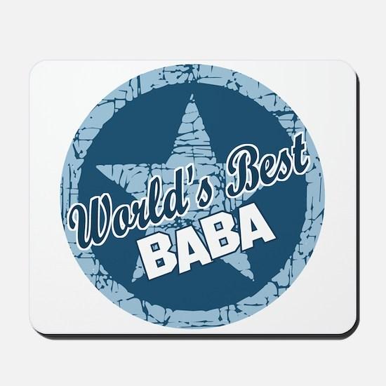 Worlds Best Baba Mousepad