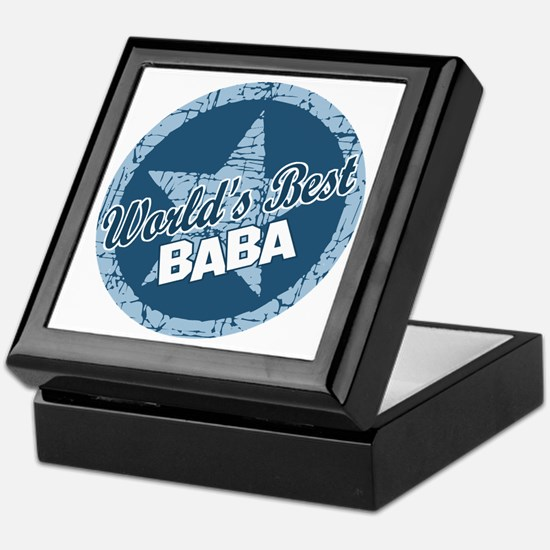 Worlds Best Baba Keepsake Box