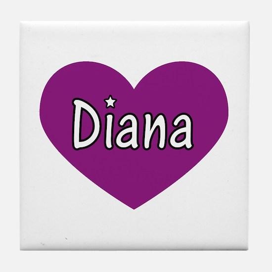 Diana Tile Coaster