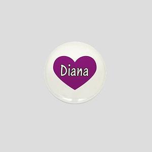 Diana Mini Button