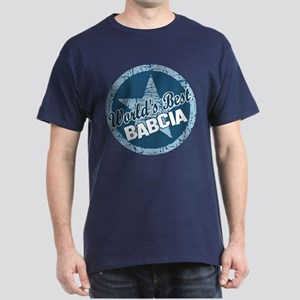 Worlds Best Babcia Dark T-Shirt