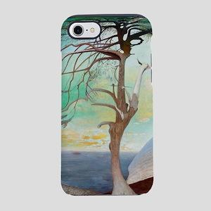 Lonely Cedar Tree Landscape iPhone 8/7 Tough Case