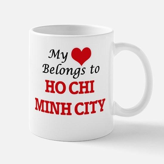 My heart belongs to Ho Chi Minh City Vietnam Mugs