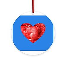 Squirrel Popart Ornament (Round)