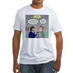 Sports Interview Fitted T-Shirt