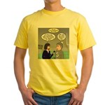 Sports Interview Yellow T-Shirt