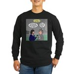Sports Interview Long Sleeve Dark T-Shirt