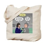 Sports Interview Tote Bag