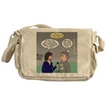 Sports Interview Messenger Bag