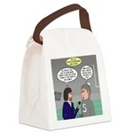 Sports Interview Canvas Lunch Bag
