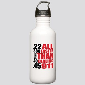 All Faster Than Dialin Stainless Water Bottle 1.0L