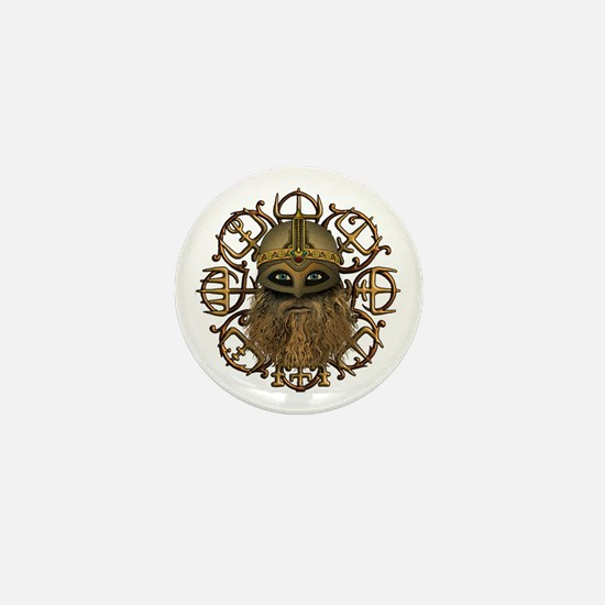 Viking & Vegvisir Mini Button