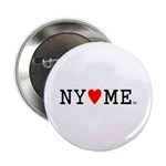 "NY hearts ME (TM) 2.25"" Button (10 pack)"
