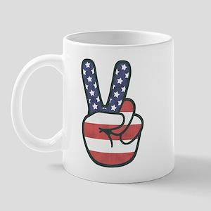 Peace Hand Mug