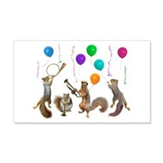 Squirrels Party Wall Decal