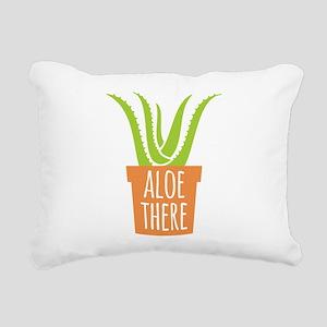 Aloe There Rectangular Canvas Pillow