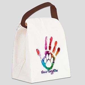 Never Forgotten Canvas Lunch Bag