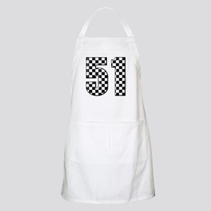 Checkered Number 41 BBQ Apron