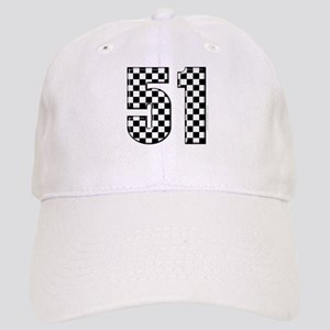 Checkered Number 41 Cap