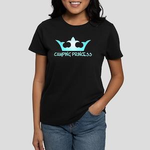 Camping Princess - 3 Women's Dark T-Shirt