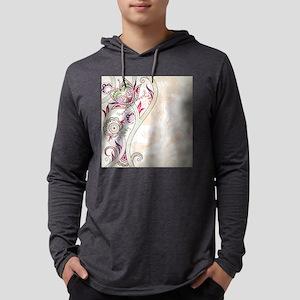 Ornamental Vintage Floral Pret Long Sleeve T-Shirt
