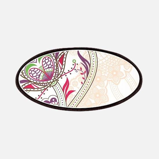 Ornamental Vintage Floral Pretty Decorative Patch