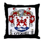 O'Neill Coat of Arms Throw Pillow
