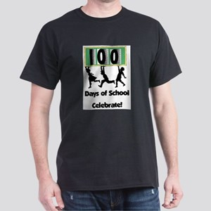 100th Day of School, Celebrate Dark T-Shirt