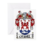 O'Neill Coat of Arms Note Cards (Pk of 10)