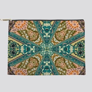 bohemian mandala tribal pattern Makeup Bag
