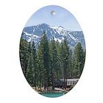 Lake Tahoe - Oval Ornament