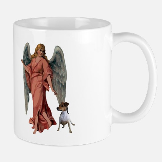 GUARDIAN ANGEL AND JACK RUSSE Mug
