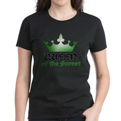 Forest Queen - 2 Women's Dark T-Shirt
