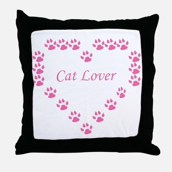 Funny Cat design Throw Pillow