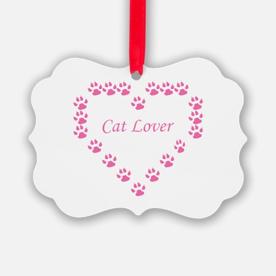 Cat lover Ornament