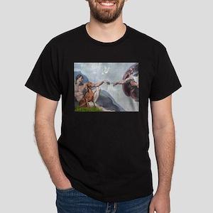 Creation / Weimaraner Dark T-Shirt