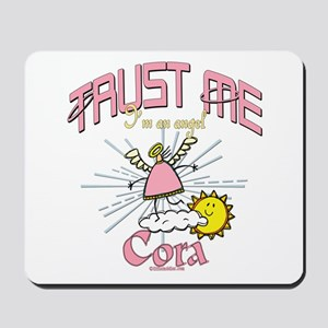 Angelic Cora Mousepad