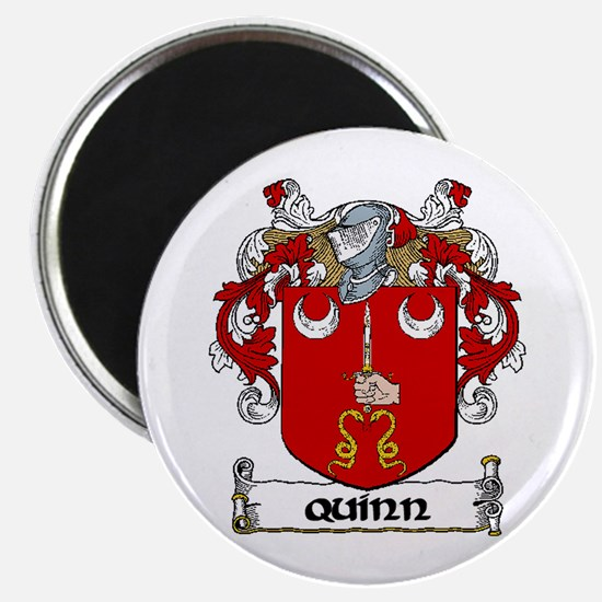 """Quinn Coat of Arms 2.25"""" Magnet (10 pack)"""