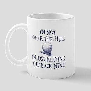 Just Playin' the Back Nine Mug